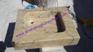 afyon sarı renkli lavoba em-020 ölçüleri : 45x55x13 cm fiyatı : 500 tl