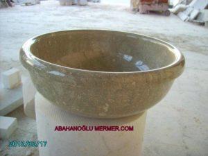 mermer çanak evye em-035 ölçüleri : 42x15 cm fiyatı : 350 tl