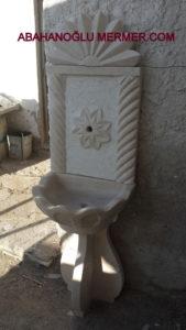 bej mermer lavabo em-074 ölçüleri : 50x170 cm fiyatı 2500 tl