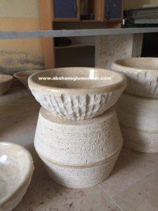 mermer patlatma lavabo evye em-079 ölçüleri : 42x15 cm fiyatı : 370 tl