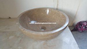 mermer evye çanak lavabo çeşitleri em-094 ölçüleri 42x15 cm fiyatı : 450 tl