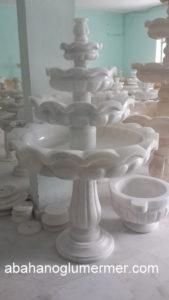 beyaz mermer fıskiye fis-004 fiyatı : 7000 tl