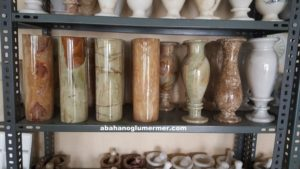 doğal taş vazo