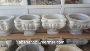 el işçilikli marmara cizgili mermer kurna ku-039 ölçüleri 45x35 cm fiyatı : 950 tl
