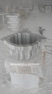 marmara kavun dilimli cizgili köşe kurnası ku-47 ölçüleri : 45x25 cm fiyatı : 450 tl