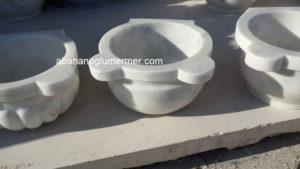 afyon beyaz düz mermer kurna ku-082 ölçüleri : 45x25 cm fiyatı : 350 tl